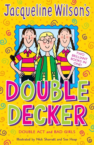9780440864141: Double Act and Bad Girls (Jacqueline Wilson's Double Decker)