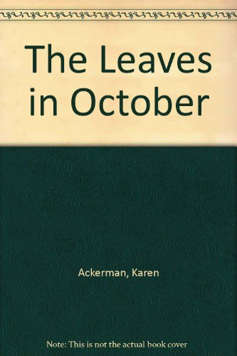 The Leaves in October