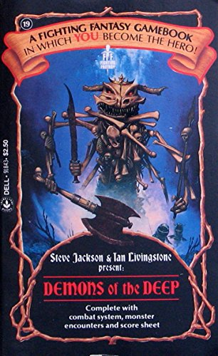 9780440918431: Demons of the Deep (Fighting Fantasy)