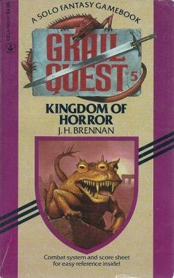 9780440945406: KINGDOM OF HORROR (Grail Quest)