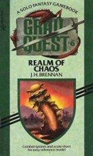 9780440973256: REALM OF CHAOS (Grail Quest)