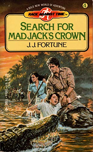 9780440976851: Search for Mad Jack's Crown (Race Against Time #4)
