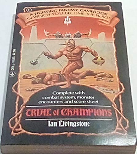 9780440986898: TRIAL OF CHAMPIONS (Fighting Fantasy)