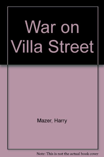 9780440990628: War on Villa Street