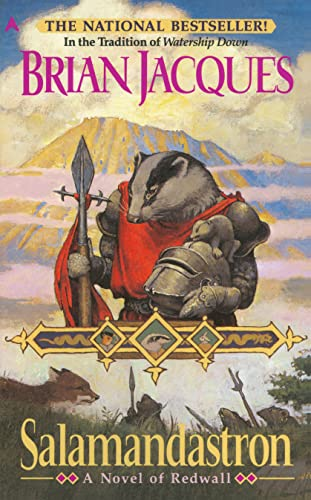 Salamandastron: A Novel of Redwall: Jacques, Brian