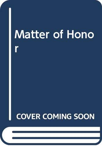 9780441001071: Matter of Honor