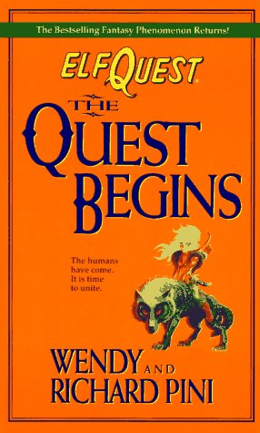 9780441002948: Elfquest 02: The Quest Begins