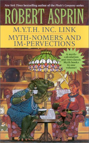 9780441009695: M.Y.T.H. Inc. Link/Myth-Nomers and Impervections 2-in-1 (Myth 2-in-1)