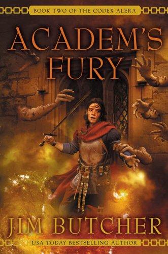 9780441012831: Academ's Fury (Codex Alera, Book 2)