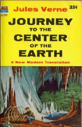 9780441043972: Journey to the Center of the Earth (Ace Double-Sized Books, D-397)