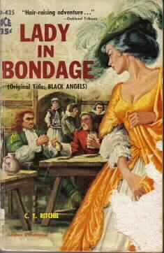 9780441044351: Lady In Bondage (Black Angels) (Ace Paperback)