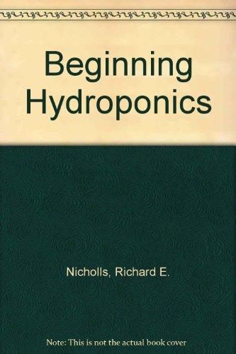 9780441053407: Beginning Hydroponics