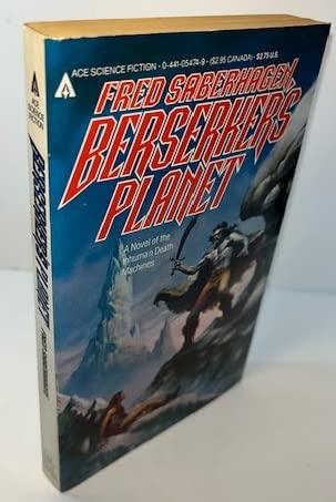 9780441054749: Berserker Planet