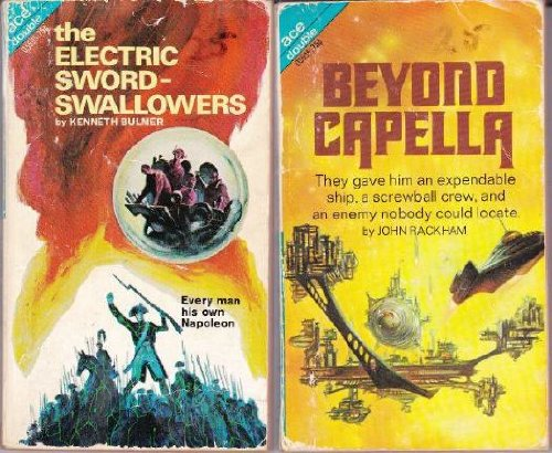 9780441055951: The Electric Sword-Swallowers / Beyond Capella (Ace Double, 05595)