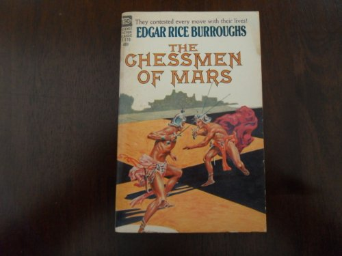9780441061709: The Chessmen of Mars (Mars Series #5) (Ace SF Classic, F-170)