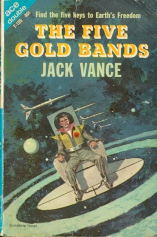 9780441061853: The Five Gold Bands / The Dragon Masters (Ace Double, F-185)