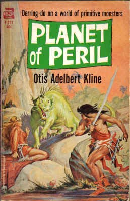 9780441062119: Planet of Peril (Classic Ace SF, F-211)