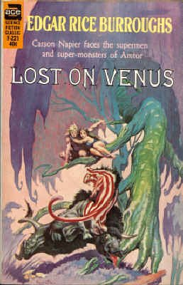9780441062218: Lost on Venus (Ace SF Classic, F-221)