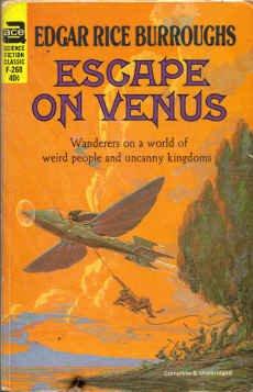9780441062683: Escape on Venus (Carson Napier Adventures #4) (Ace SF Classic, F-268)