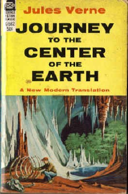 9780441075829: Journey to the Center of the Earth (Ace SF Classic, G-582)