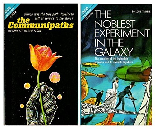 9780441115600: The Communipaths / The Noblest Experiment in the Galaxy (Ace Double, 11560)