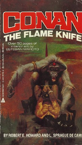 Conan: the Flame Knife (Mass Market Paper Back): Howard, Robert E.
