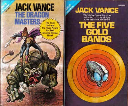 9780441166404: The Dragon Masters / The 5 Gold Bands (Ace Doubles, 16640)