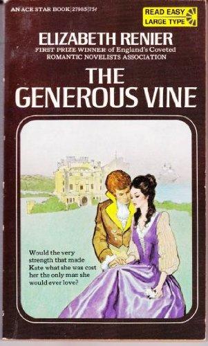 9780441279876: The Generous Vine