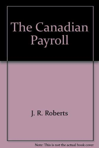 9780441308675: The Canadian Payroll