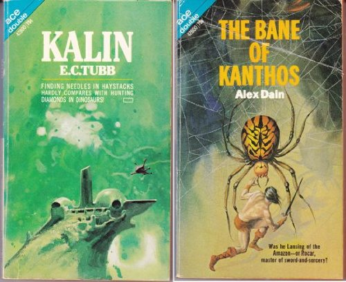 Kalin & The Bane Of Kanthos; Life With Lancelot & Hunting On Kunderer (2 Books): Tubb, E. C...