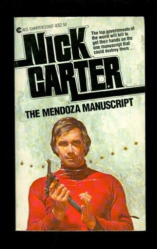 The Mendoza Manuscript (0441524478) by Carter, Nick