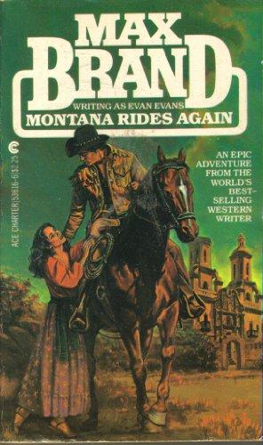 9780441536160: Montana Rides Again