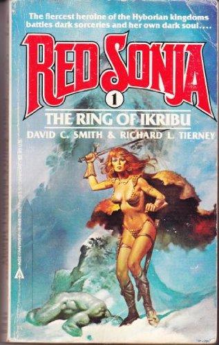 9780441711673: The Ring of Ikribu (Red Sonja, No. 1)