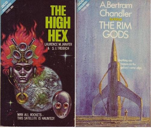 9780441724000: The Rim Gods / The High Hex (Ace Double 72400)