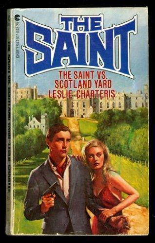 9780441749072: Saint Vs Scotland Yard