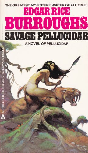 Savage Pellucidar (0441751377) by Edgar Rice Burroughs