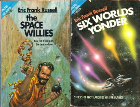 9780441777853: The Space Willies / Six Worlds Yonder (Classic Ace Double D-315)
