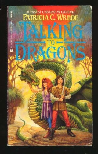 9780441795925: Talking To Dragons (Magicquest)