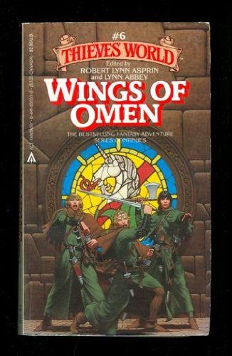 9780441805945: Wings of Omen (Thieves' World, Book 6)
