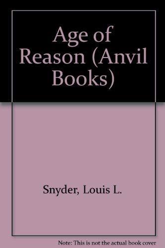 9780442000066: Age of Reason (Anvil Books)