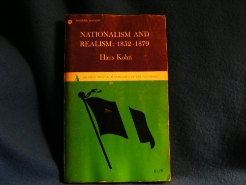 9780442000967: Nationalism and Realism: 1852-1879 (Anvil Books)