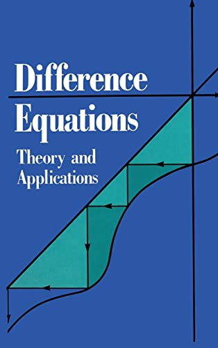 9780442001360: Difference Equations: Theory and Applications