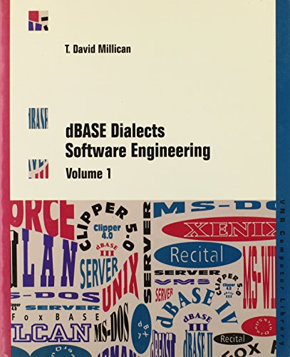 9780442002541: dBASE Dialects Software Engineering: 001