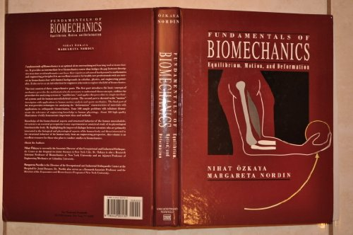9780442003135: Fundamentals of Biomechanics: Equilibrium, Motion, and Deformation
