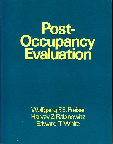 9780442003456: Post-Occupancy Evaluation