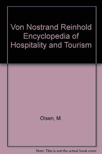 9780442003463: VNR's encyclopedia of hospitality and tourism