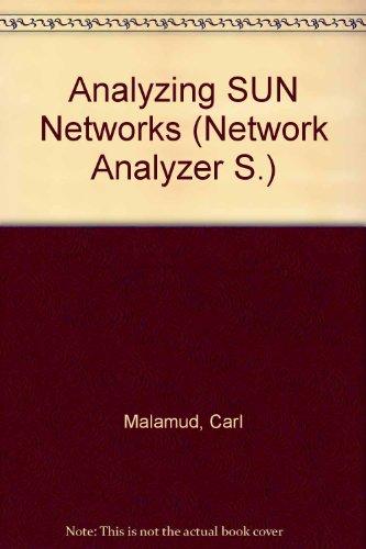 Analyzing Sun networks: Malamud, Carl