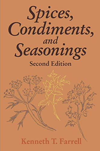 9780442004644: Spices, Condiments and Seasonings (AVI Books)