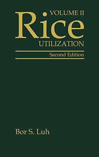 9780442004859: 002: Rice, Volume 2: Utilization