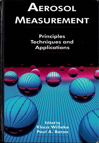 9780442004866: Aerosol Measurement: Principles, Techniques and Application